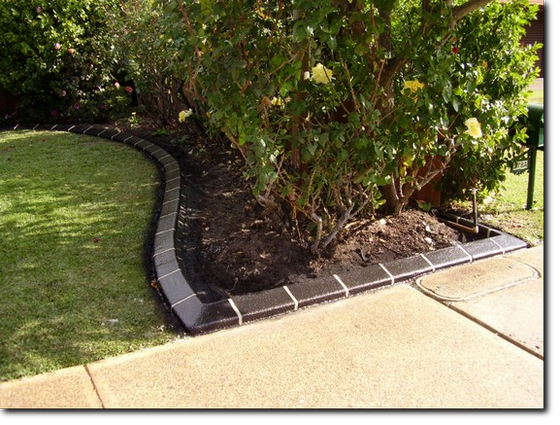 Charcoal Garden Edging, Kerbing near Kewdale