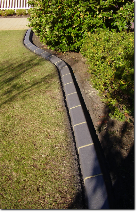 The Finished Product After The Kerbing Has Been Laid And The Selected Colour And Finishes Have Been Applied The Kerbing Is Treated With 2 Coats Of A